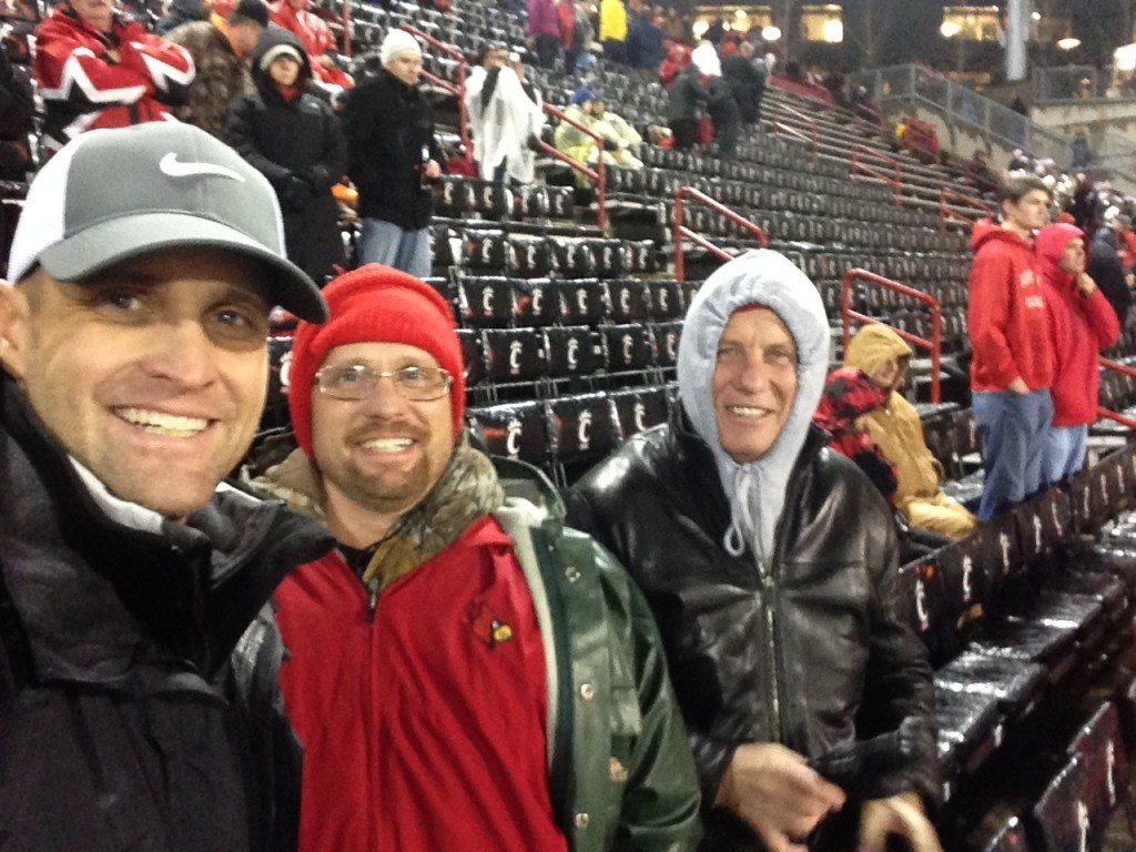 Bob & Boys Cincy Fball Game