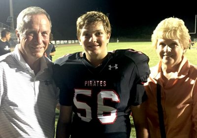 Bob & Judy Russell with grandson Tommy